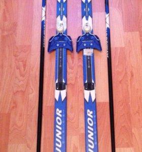 Беговые лыжи. Готовый комплект для ребёнка