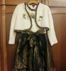Праздничное платье для девочки 8 лет