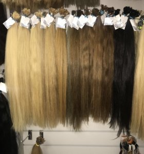 Натуральные волосы на капсуле 60 см