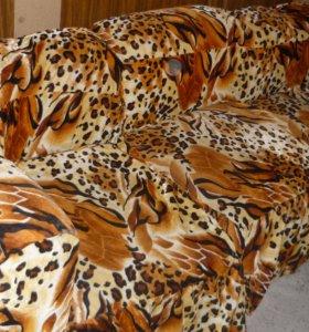 угловой диван из 5 элементов