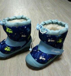 Детские ботинки, зимние.