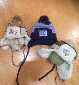 шапки зима