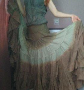 Бохо-юбка