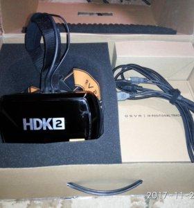 OSVR HDK2 + Leap Motion