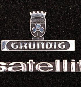 Для радиоприемника Grundig шильдики