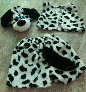 Новогодний костюм детский собачка