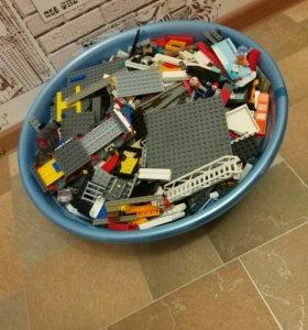 Лего большое разные детали