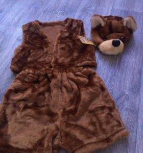 Новогодний костюм детский медвежонок
