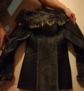 Продаётся натуральная куртка-дублёнка