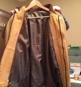 Куртка мужская кожа