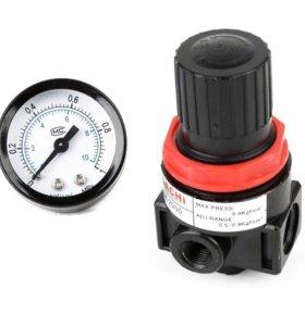 Клапан с манометром для управления давления