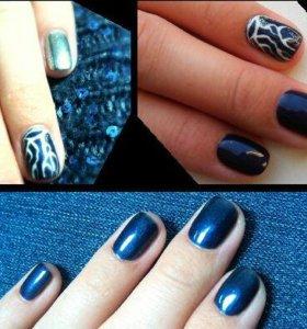 Покрытие ногтей гель-лаком (shellac)