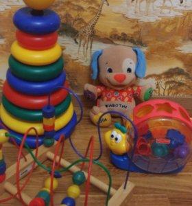 Пакет игрушек (цена за все )