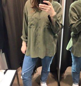 Рубашка-блузка Zara