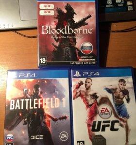 Bloodborne, battlefield 1, ufc
