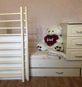 Кровать-трансформер (детская)