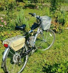 Мото-велосипед