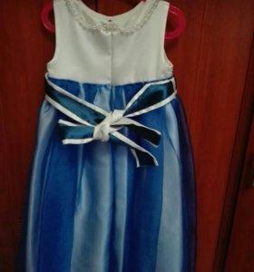 Платье ручной работы р122-128