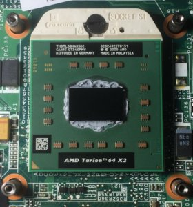 AMD Turion 64 X2 Mobile technology TL-58