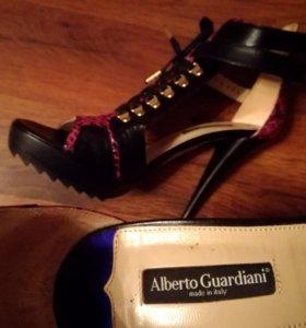 Новые alberto guardiani босоножки