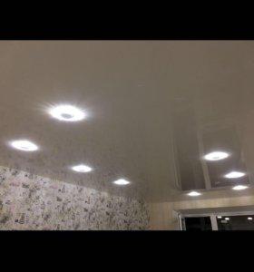 Натяжные потолки со склада