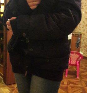 Зимняя куртка... женский.  Бу