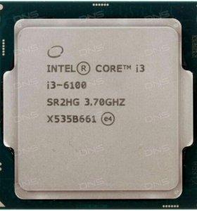 intel core i3 6100 3.7 Ghz