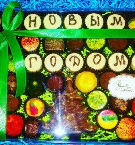Подарки новогодние из шоколада