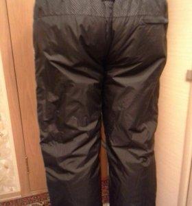 Спортивные штаны утепленные