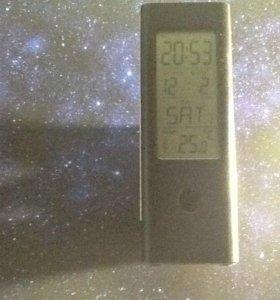 Электронные часы 3в 1
