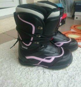 ботинки для сноуборда vans 38