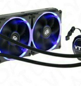 Система водяного охлаждения для процессора