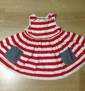 Платье детское на 2-3 годика