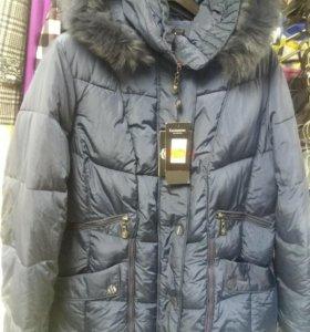 Новая Зимняя куртка 52-54