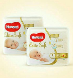 Погузники Huggies Elite Soft