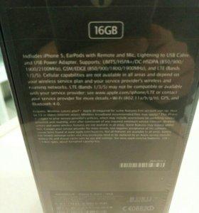 Iphone 5 16 gb с гарантией