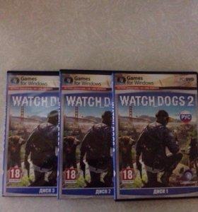 Лицензионный диск Watch Dogs 2