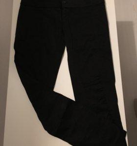 Брюки черные стрейч джинсовые