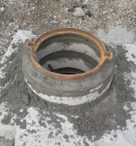 Ремонт канализационных, смотровых колодцев.
