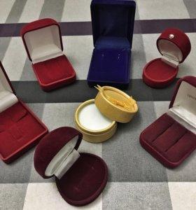 Коробочки под ювелирные украшения