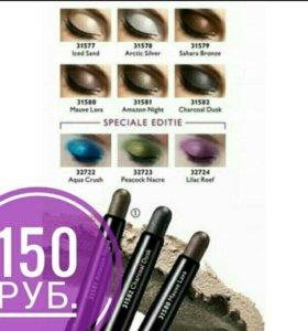 Стойкие тени-карандаш для век