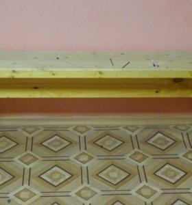 Продам деревянную скамейку