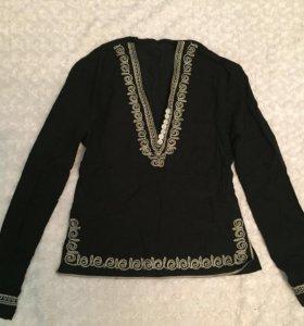 Кардиган и блузка