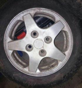 Литые диски R14 4*114
