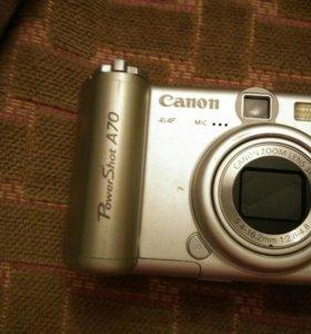 Фотоаппарат Canon PoverShot A70