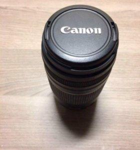 Объектив canon zoom lens ef 75-300mm 1 4-5.6 iii