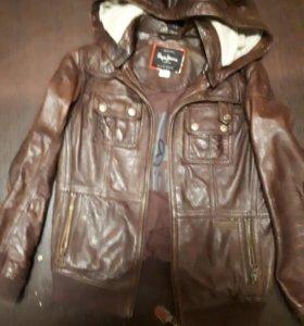 Кожаная куртка Pepe Juans на мальчика