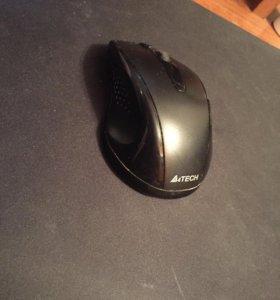Мышь беспроводная A4tech padless mause
