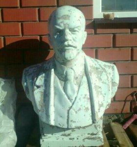 Бюст В.И Ленина 85×65 в хорошем состоянии