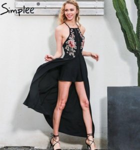 Новое платье - комбинезон размер S